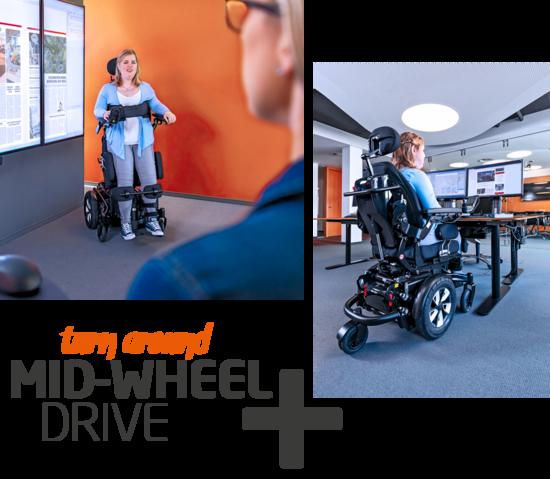 MEYRA - iCHAIR SKY mid-wheel-drive