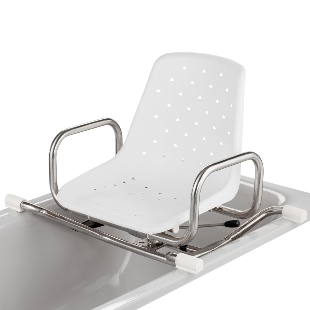 MoBaLux stainless steel swivelling bath seat | MEYRA
