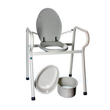 XXL toilet support frame